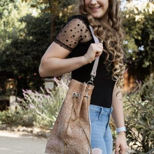"Drawstring  ""Renata Bag"" – Bohemian Style Bag – Super Feminine – Lightweight Ideal at any Age –"