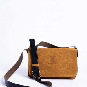 Saddle Bag – Elegant Classic Purse – Pockets on the Back – Adjustable Straps – Leather Products