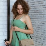 Saddle Bag – Elegant Classic Purse – Pockets on the Back – Leather Straps – Leather Products