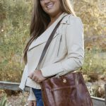 Danika Leather Bag – Genuine Leather Bag – Handmade Pocket Purse – Feminine Leather