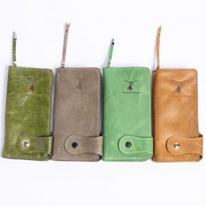 Wallets – Handmade Leather Wallets – Zipper Inside – Many Colors Available – Large Unisex Wallet