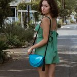 Sophia Purse – Small Bag – Minimalist and Modern Purse – Any Age Bag – Leather and Suede