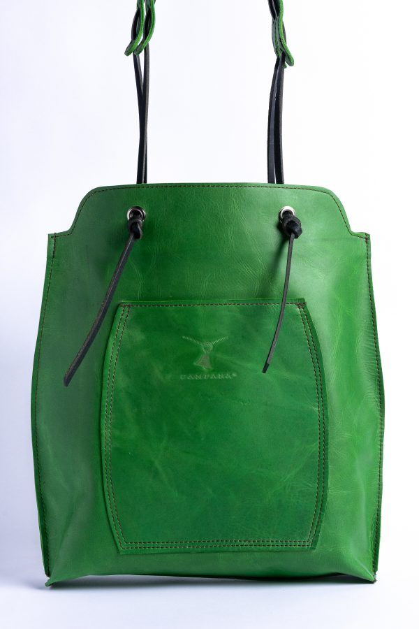 Front View Sandy Tote Bag
