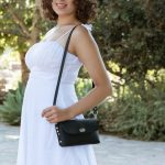 Iris Purse – Small Leather Bag – Concert Purse – Elegant Small Purse – Leather Handcrafted